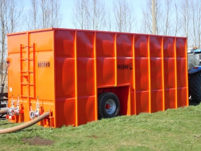 Mobiele mestcontainers
