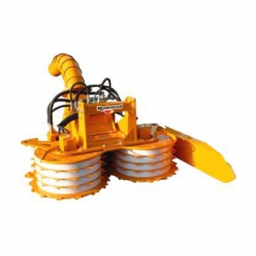 Hedge cutter for motorways